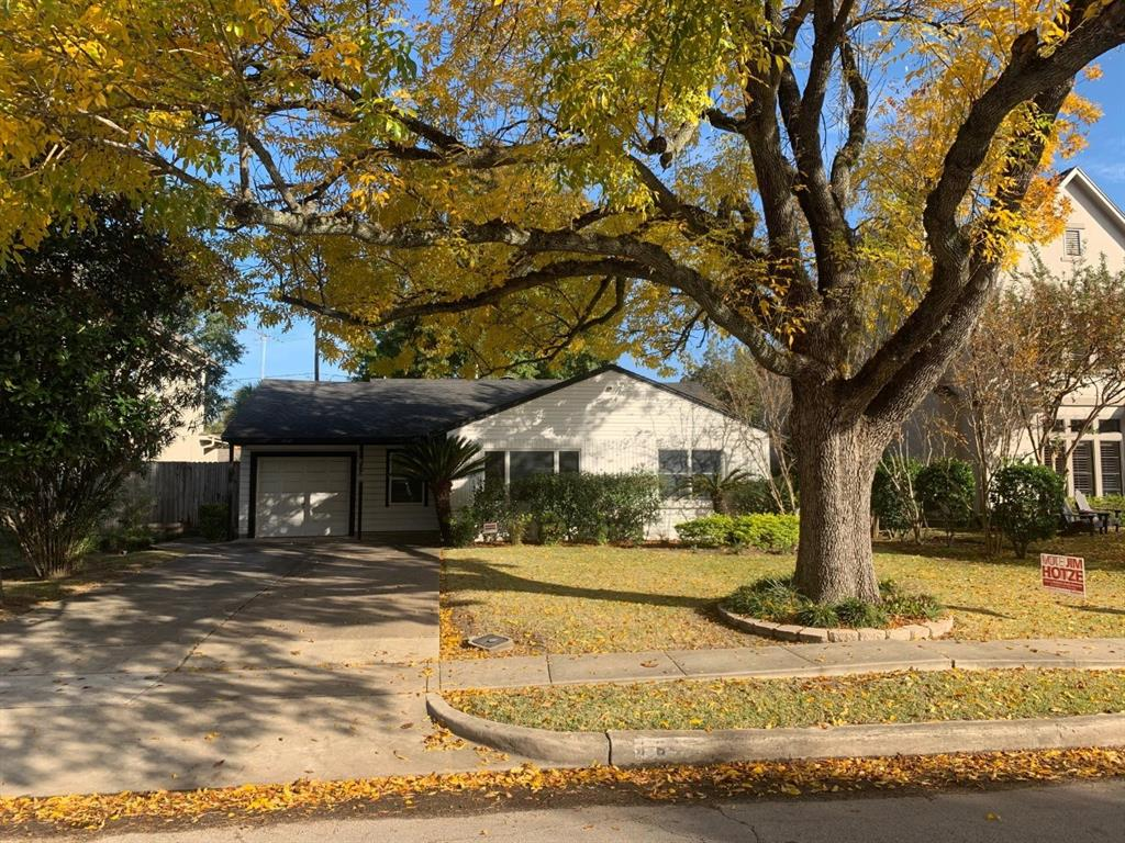 The gas line has been capped and the electric has been killed. The home is back on the market after buyers backed out due to personal reasons. This 8,775 sqft lot with mature shade trees allows for you to build your dream home in Bellaire. The back yard features a one of a kind in-law suite that has been completely remediated. The home is within walking distance to Horn Elementary and is also zoned to Pershing Middle School and Bellaire High School. The home offers easy access to 610 and is only a short commute to the Galleria, Medical Center, Downtown and NRG.