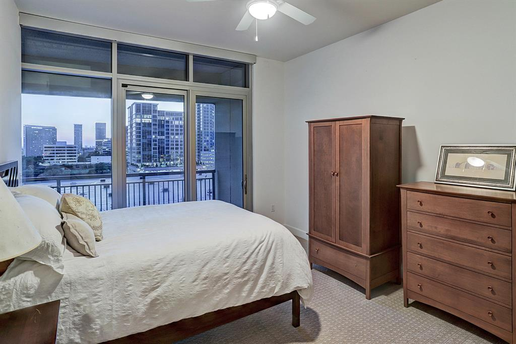 Master Bedroom provides a soothing and serene environment, with a private balcony to view the most beautiful sunsets!   Carpet replaced in May 2018!