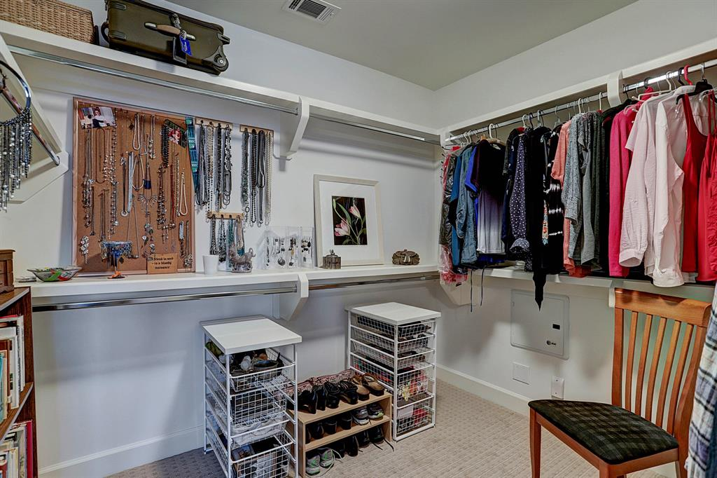 Very large Master closet,  carpet updated in May 2018!