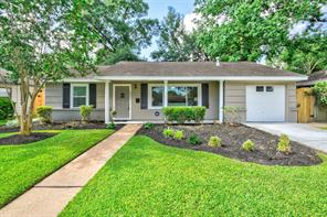 Houston Home at 2207 Saxon Drive Houston , TX , 77018-4639 For Sale
