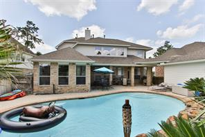 Houston Home at 25122 Auburn Bend Drive Spring , TX , 77389-4260 For Sale
