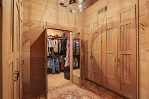 The Master Bath also features several storage closets with drawers/hanging rods and separate cedar closet.