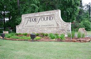 Front entrance to April Sound