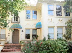 Houston Home at 1215 Bartlett Street 1 Houston , TX , 77006-6459 For Sale