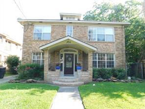 Houston Home at 1822 Rosedale Street Houston , TX , 77004-5631 For Sale