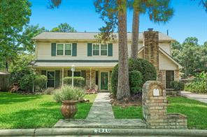 Houston Home at 810 Appomattox Drive Spring , TX , 77380 For Sale