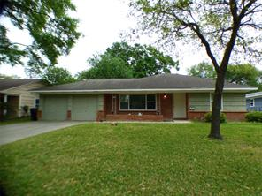 Houston Home at 8527 Greenbush Street Houston , TX , 77025-3827 For Sale