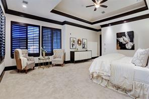 Another view of the MASTER BEDROOM.