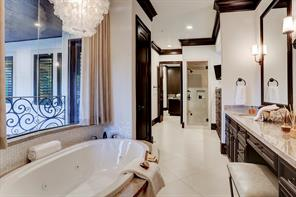 Another view of the MASTER BATHROOM.  So attractive!