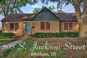 505 s jackson street, brenham, TX 77833