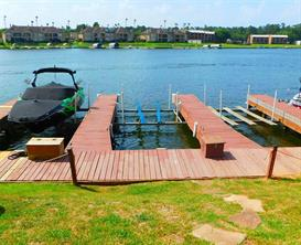 Your private boat slip with electric lift included