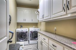 Large utility room.