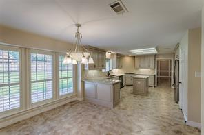 View of your huge informal dining area and kitchen space.