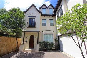 Houston Home at 2043 W Main Street B Houston , TX , 77098-3415 For Sale