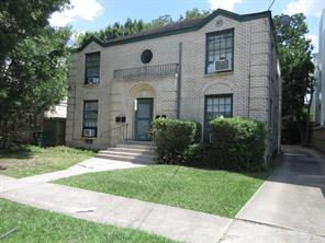 Houston Home at 1849 Sul Ross Street 2 Houston , TX , 77098-2623 For Sale
