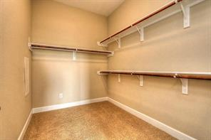 MASTER CLOSET. PICTURES FROM SIMILAR UNIT