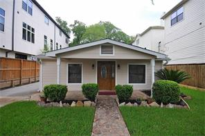 5814 Darling, Houston TX 77007