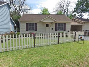 Houston Home at 1004 Gibbs Street Houston , TX , 77009-2459 For Sale