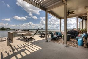 Take in the beautiful view of Lake Conroe from your private upstairs balcony!
