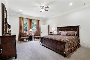 The master bedroom is definitely a sanctuary retreat.