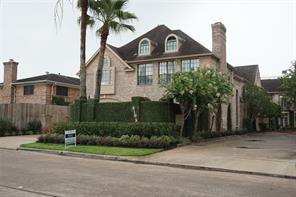 Houston Home at 6105 Inwood Drive A Houston , TX , 77057-3533 For Sale