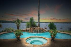 Enjoy beautiful lakefront sunsets from your own oasis.