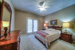 This upstairs bedroom has a princess balcony and plenty of space for bigger furniture.