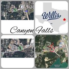 Houston Home at R352368 0 Canyon Falls Willis , TX , 77318 For Sale