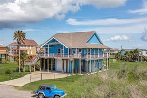 Houston Home at 2423 Sandpiper Crystal Beach , TX , 77650 For Sale