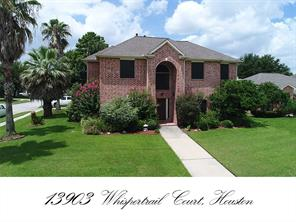 13903 whispertrail court, houston, TX 77014