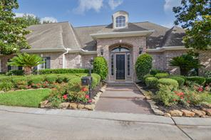 Houston Home at 6 Champions Court Trail Houston , TX , 77069-1794 For Sale