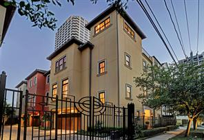 Houston Home at 2419 Brazoria Street A Houston , TX , 77019-6021 For Sale