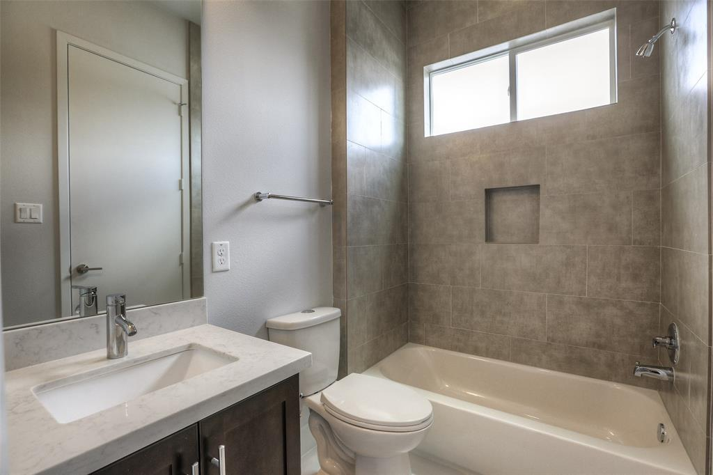 Full bath # 3 with modern finishes
