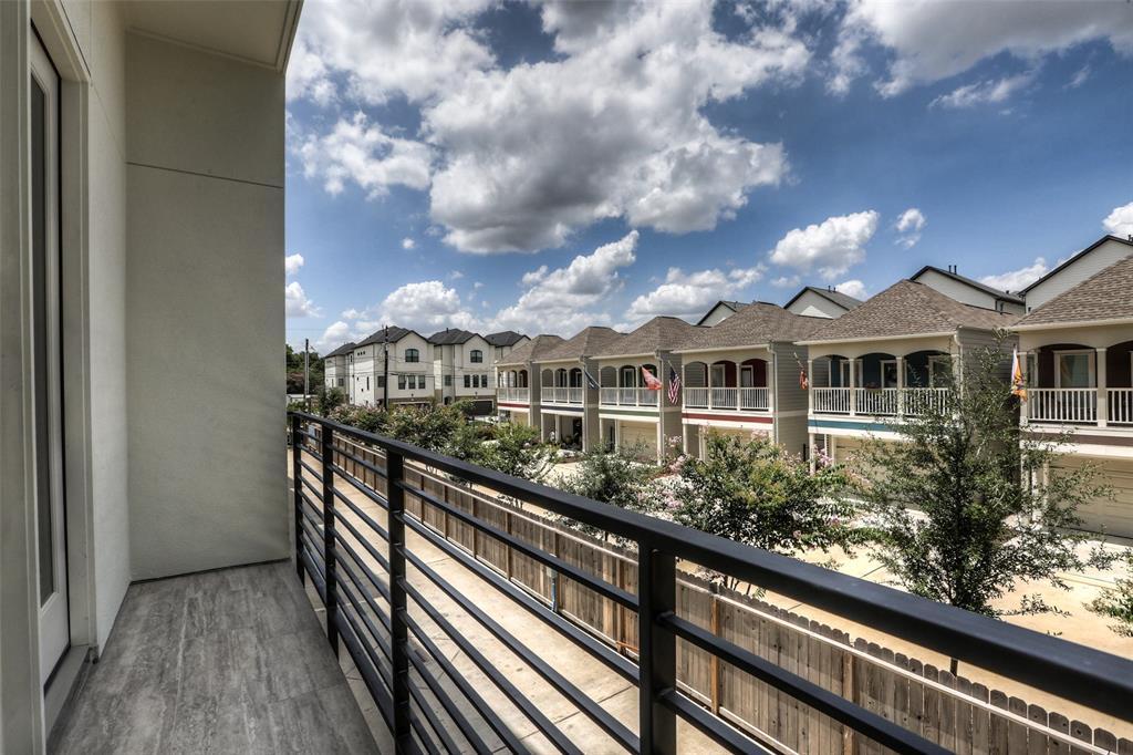 Balcony on the 2nd floor.
