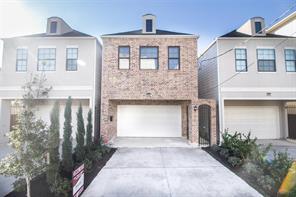 Houston Home at 5633 Petty Street B Houston , TX , 77007-2550 For Sale