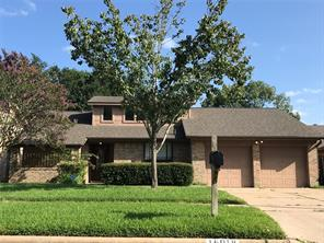 Houston Home at 16018 Echo Hill Drive Houston , TX , 77059-4625 For Sale