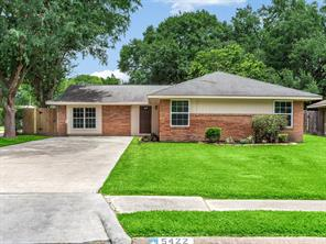 Houston Home at 5422 Nina Lee Lane Houston                           , TX                           , 77092-5214 For Sale