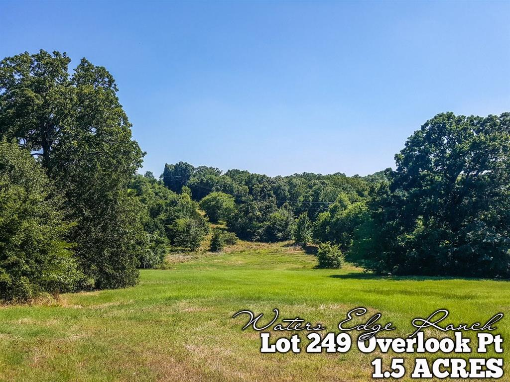 Lot 249 Overlook Point, Athens, TX 75752