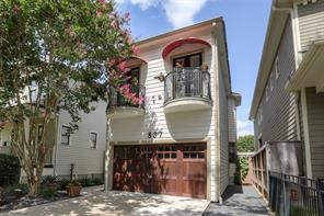 Houston Home at 837 Ashland Street Houston , TX , 77007-1426 For Sale