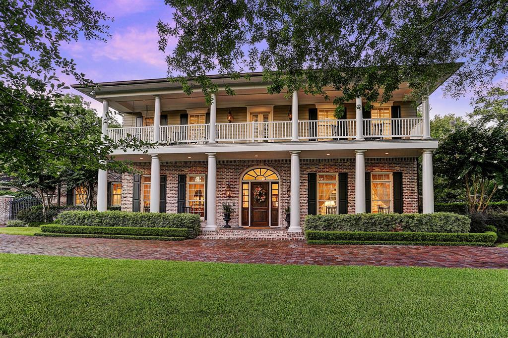 [Front Elevation]Built by the sellers, this gracious home was inspired by the French Creole architecture of Louisiana's Cane River country.