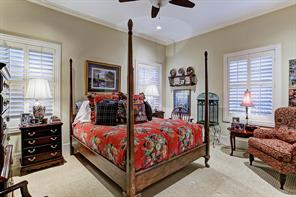 """[Guest Room/Fourth Bedroom 15'x12'5""""]Located adjacent to the game room, this bedroom and bathroom may serve as a guest suite or fourth bedroom."""