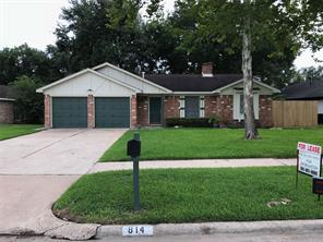 Houston Home at 814 Shadwell Drive Houston , TX , 77062-4027 For Sale