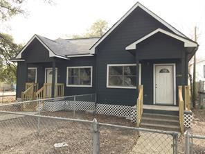 Houston Home at 2616 Delano Street Houston , TX , 77004-1640 For Sale