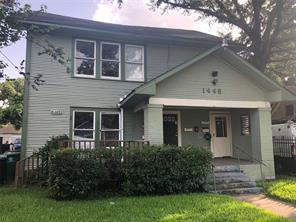 Houston Home at 1448 Pearson Street 6 Houston                           , TX                           , 77023-3661 For Sale