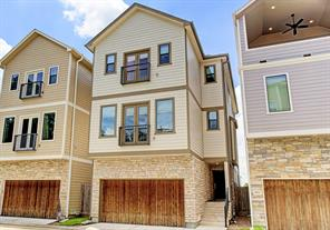 Houston Home at 2053 14th 1/2 Street Houston , TX , 77008-3405 For Sale