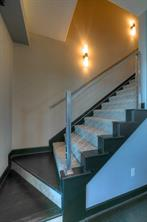 This staircase leads to the Master Suite!