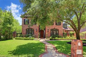 Houston Home at 1 Martin Lane Spring Valley Village , TX , 77055 For Sale