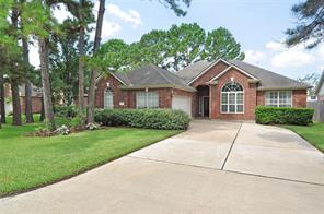 Houston Home at 18511 Bluewater Cove Drive Humble , TX , 77346-6167 For Sale