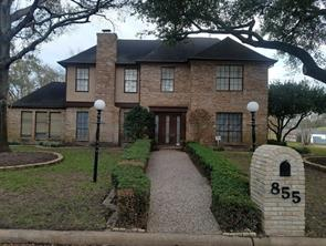 Houston Home at 855 Silvergate Drive Houston , TX , 77079-5000 For Sale