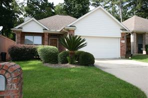 Nice one story brick home located on a culdesac within April Sound